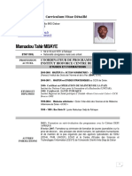 Curriculum Vitae_Mamadou Tahir MBAYE