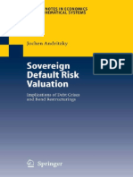 Sovereign Default Risk Valuation