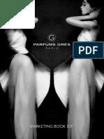 Parfums Grès Marketing Book 2017