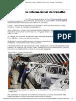 A Nova Divisão Internacional Do Trabalho - 26-10-2016 - Marcos Troyjo - Colunistas - Folha de S