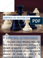 Control de Gest i One Strategic o