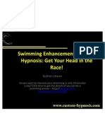 Swimming Enhancement Through Hypnosis