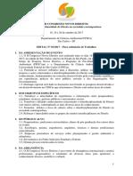 Congresso Novos Direitos - Edital No01_2017