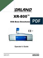 MANUAL Densitometro XR600