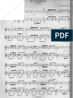 Astor Piazzolla - Se Termino