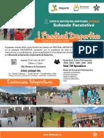 Informe Festival Deportivo Facatativa