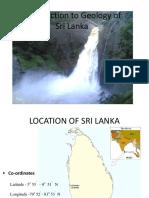 Geology of Sril Lanka