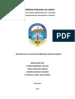 Valuacion Agropecuaria - Monografia