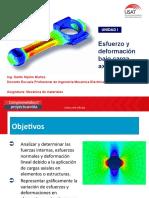 PPT 03 -Diagrama de Esfuerzos Bajo Carga Axial 2017_I
