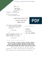 Sacchi v United Complaint