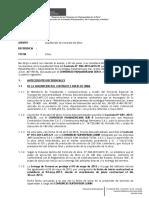 Modelo de Informe de Liquidacion