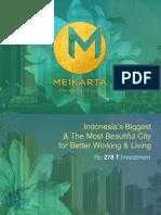 Meikarta Presentation 100517