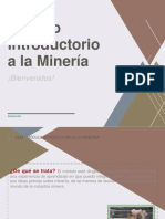 Ppt Módulo Introductorio a La Minería-corregido