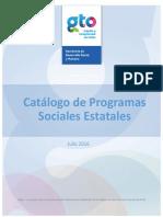 Catalogo de Programas Estatales