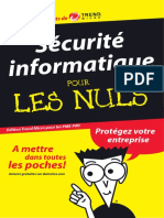 La Securite Informatique PourLesNuls