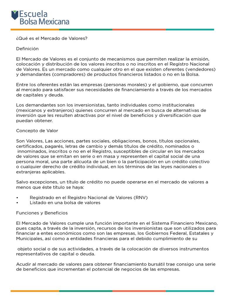 Curso bsico bolsa mexicana de valores thecheapjerseys Gallery