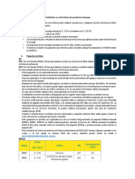 Condiciones y Restricciones de Productos Prepago