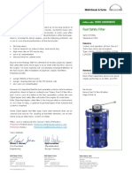 Fuel Safety Filter