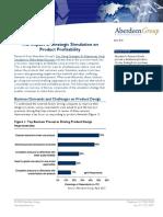 WP Impact of Strategic Simulation on Product Profitability