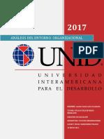 Analisis Del Enbtorno Organ9izacional Jase 2017 13 Mayo