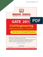 CE GATE-2017 Sol Session-2