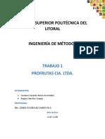 Trabajo 3- Ing. de Metodos