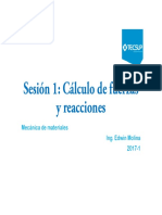 Sesión 1 Calculo de Fuerzas y Reacciones_1