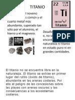 Titanio Final