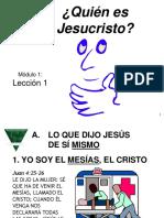 Tema Quien Es Jesus