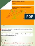 Clases de Sistemas de Ecuaciones Lineales 2016-I