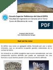 PRIMER PARCIAL MECANICA DE ROCAS