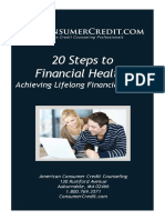Accc 20 Steps to financial health