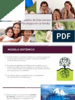 Modelos de Intervension Psicologica en La Familia