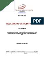 Reglamento Investigacion v008
