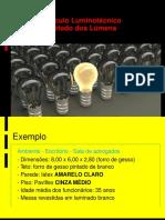 Luminotecnica - Metodo Dos Lumens