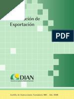 delcaracion de exportacion - cartilla.pdf