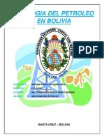 Geologia Del Petroleo en Bolivia