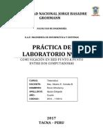 Informe de Laboratorio Nº 02 - Telematica