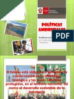 POLÍTICAS EDUCATIVAS DEL MEDIO AMBIENTE