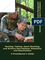 NSSF & Responsive Management Release Handbook to Increase Outdoor Recreation
