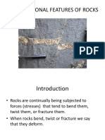 Deformational Features of Rocks