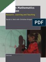 proof in mathematics education