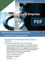 Introducción a La Empresa
