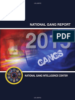 National Gang Report 2015