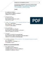 Francés La Interrogación en Francés 2