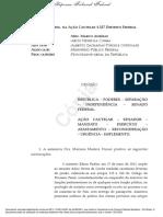 Decisão Do Ministro Marco Aurélio Sobre Aécio Neves