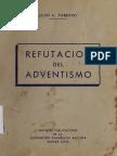 Juan C. Varetto - Refutación Del Adventismo