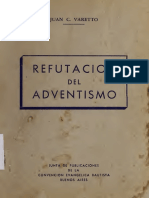 Juan C. Varetto - Refutación Del Adventismo
