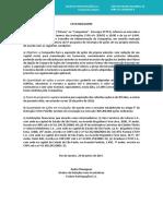 Fato Relevante - Aprovação do 5º Programa de Recompra de Ações da Companhia
