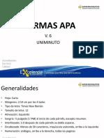 Presentación Normas Apa f. Umd